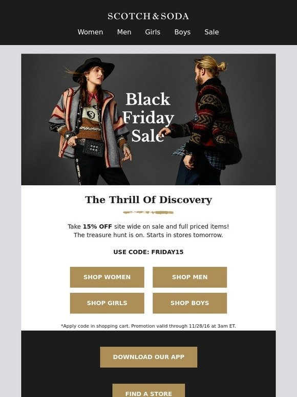 Scotch & Soda-black-friday-2019
